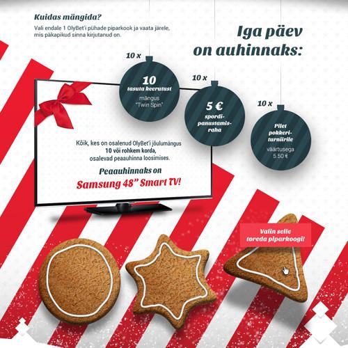 OlyBet'i jõulukampaania