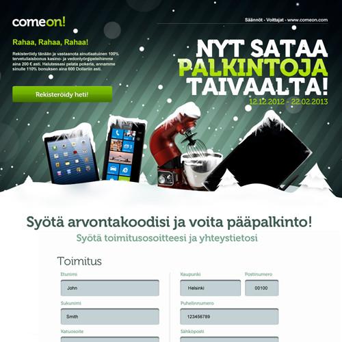 ComeOn! jõulukampaania