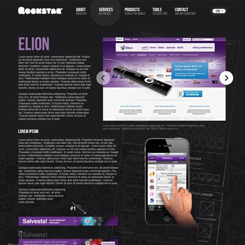 Rockstar'i veebileht