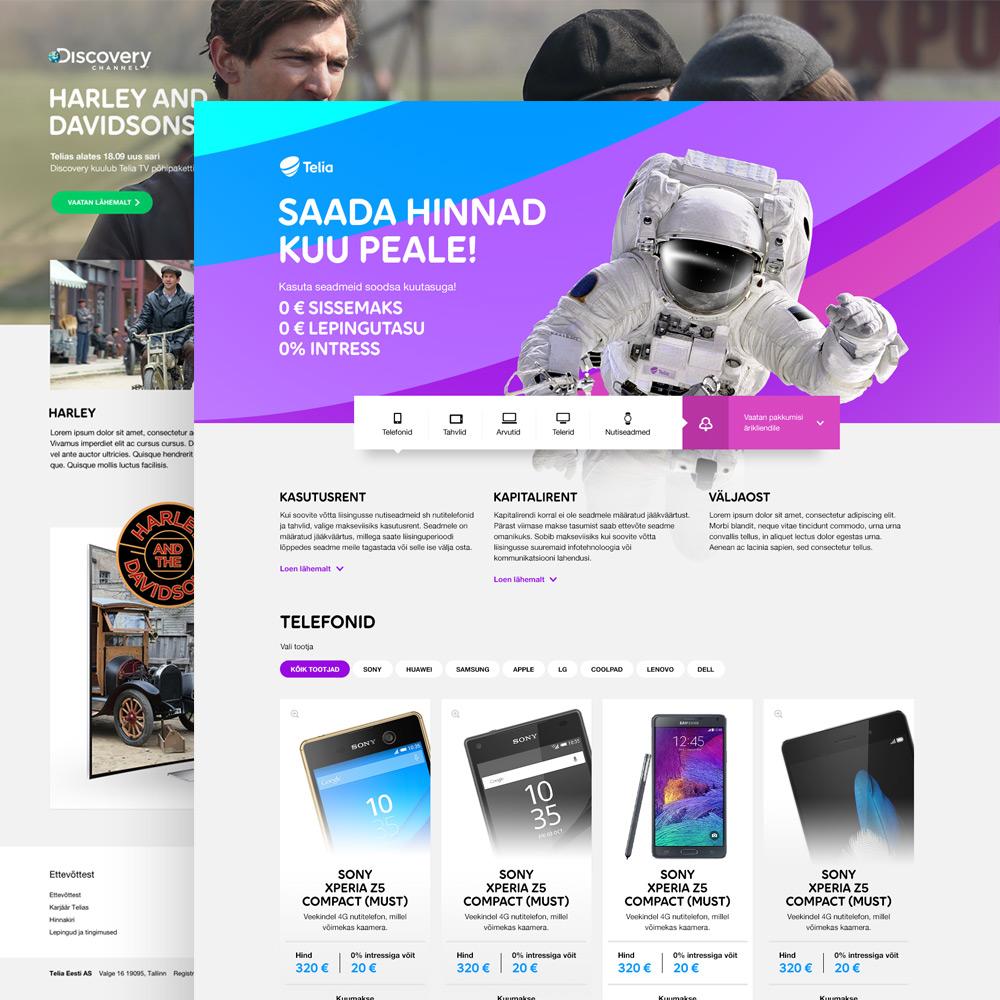Telia veeb